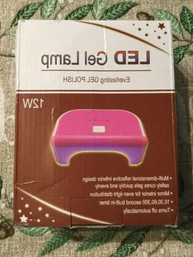 1x portable quick dry led nail dryer