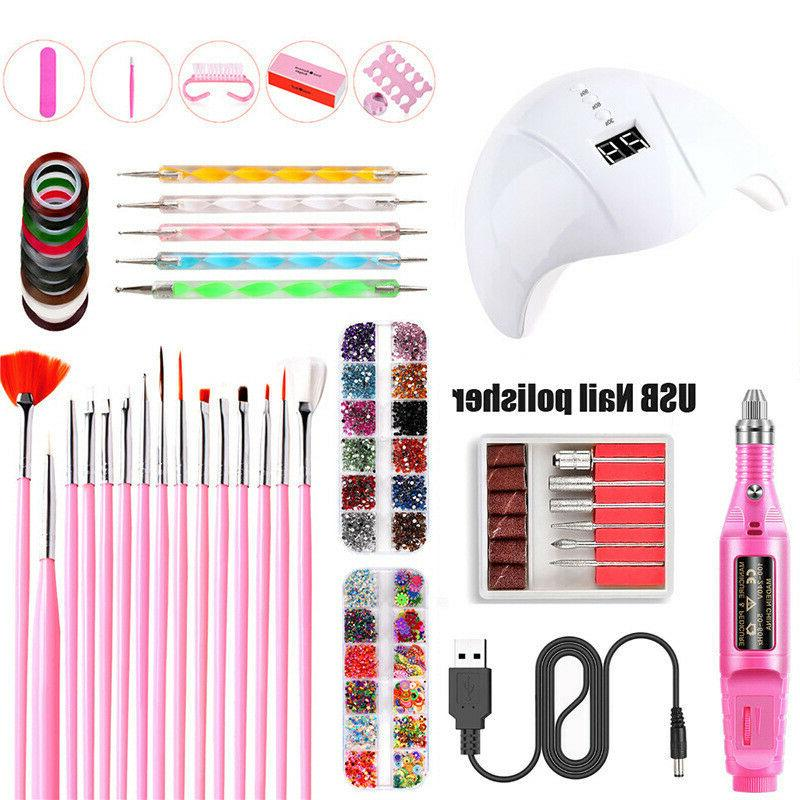 dryer phototherapy manicure tools set electric nail