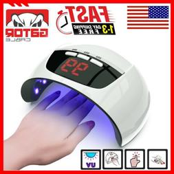 Ultraviolet UV Light LED Nails Gel Polish Dryer Lamp Salon M